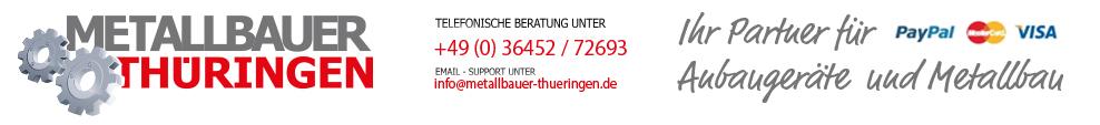 Metallbauer - Thueringen